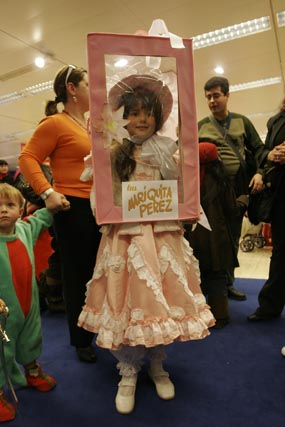 Concurso infantil de disfraces