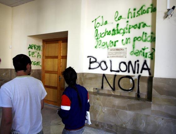Galería de fotos: La facultad de Ciencias Políticas, tomada