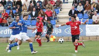 El Portuense salva un punto en su visita a Écija