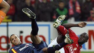 Standard-Sevilla (1-0): No hay quien pare la cuesta abajo