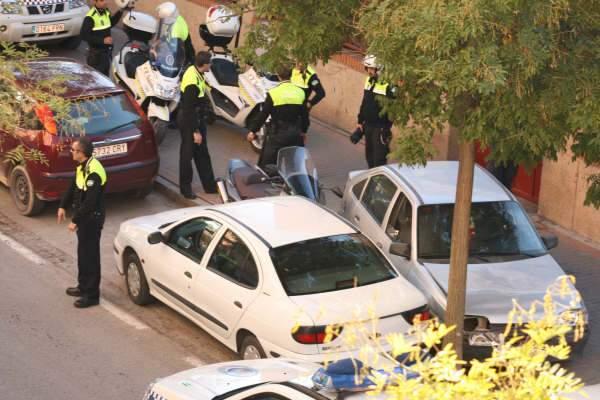 Persecución policial en la zona Norte de Granada