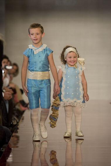 Desfile infantil: Kobez
