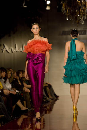 Desfile Costura: Manuel Odriozola