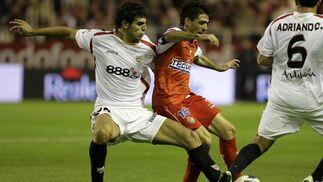 Sevilla-Ponferradina (4-0): Desquite