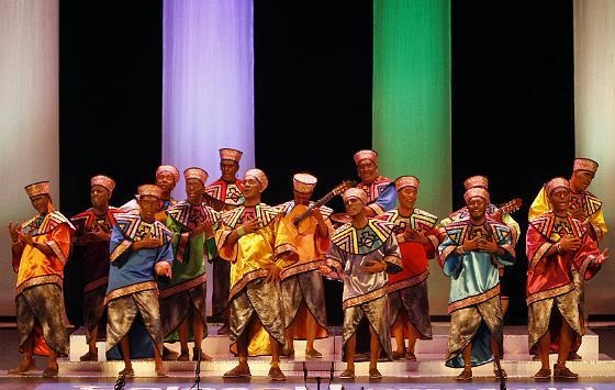 Tipo de africanos para la comparsa de Tino Tovar, Voces.  Foto: Jose Braza