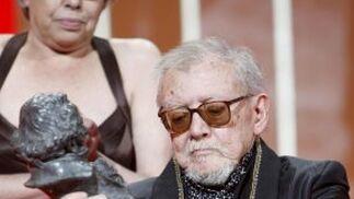 Jesús Franco recibió un homenaje a su trayectoria profesional.  Foto: EFE