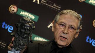 Jordi Dauder ha ganado el premio a Mejor actor por 'Camino'  Foto: afp