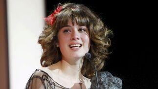 Nerea Camacho se emociona al tomar el Goya a Mejor actriz revelación por 'Camino'   Foto: efe