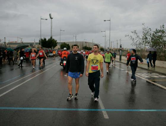El argentino Barzola gana en una edición pasada por agua.  Foto: Javier Alonso