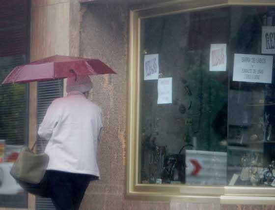 La capital ha sufrido fuertes lluvias durante las últimas horas.  Foto: Fran Leonardo