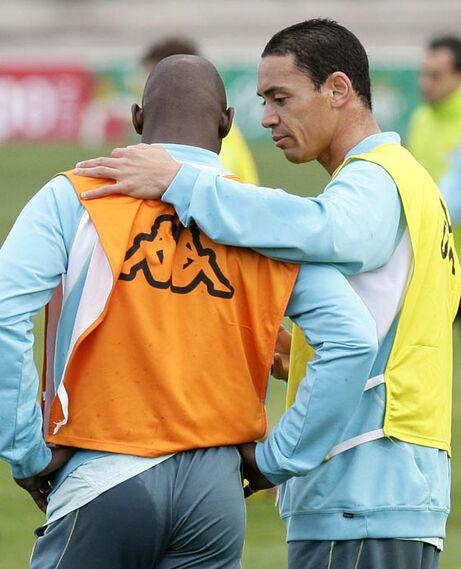 Oliveira se ha integrado rápidamente con sus compañeros.  Foto: Antonio Pizzaro