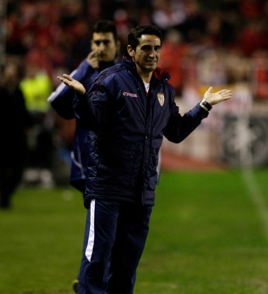 Jimenez durante un momento del partido  Foto: Antonio Pizarro