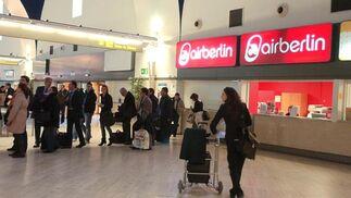 Poco a poco el aeropuerto de San Pablo recuperó la normalidad.  Foto: Manuel Gomez