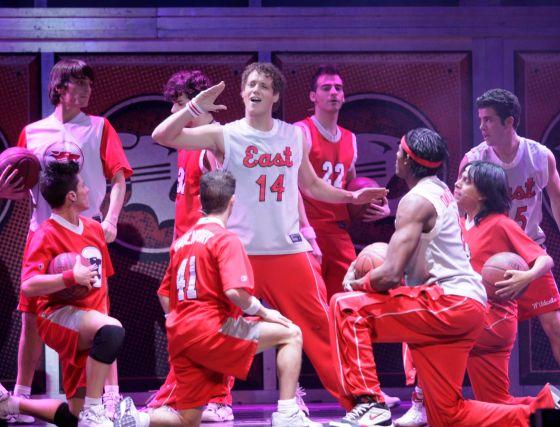 Los chicos de Hight School Musical hicieron las delicias de los asistentes al Palacio de Congresos.  Foto: Miguel Rodriguez