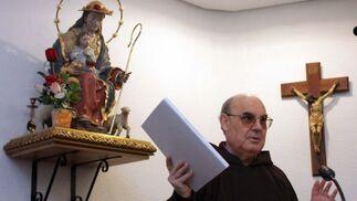 Los frailes Capuchinos han informado hoy de los pasos que está siguiendo Fray Lepoldo para convertirse en beato de la iglesia.  Foto: Pepe Torres
