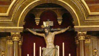 Quinario al Cristo de la Conversión en Montserrat.  Foto: J.P.