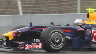 Otro detalle del lateral del Red Bull que disputará el mundial de 2009.  Foto: J. C. Toro