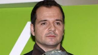 Ángel Martín, premiado como mejor presentador por 'Sé lo que hicisteis'.   Foto: EFE