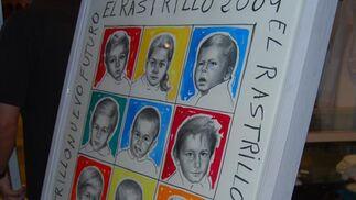 Cartel del Rastrillo de Nueva Futura 2009.  Foto: Alvaro Olmo