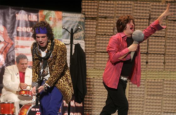 El cuarteto de Gago dejó pinceladas geniales de humor.   Foto: Jesus Marin