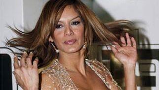 Ivone Reyes también acudió a la gala.   Foto: EFE