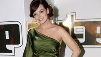 La presentadora de informativos de la Sexta, Cristina Villanueva.   Foto: EFE