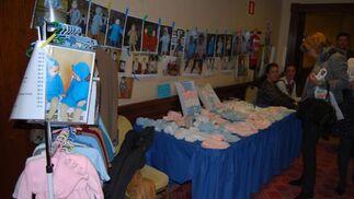 Son varios los comerciantes dedicados exclusivamente a los niños en este Rastrillo.  Foto: Alvaro Olmo