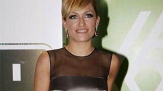 La presentadora de Cuatro, Luján Argüelles.   Foto: EFE
