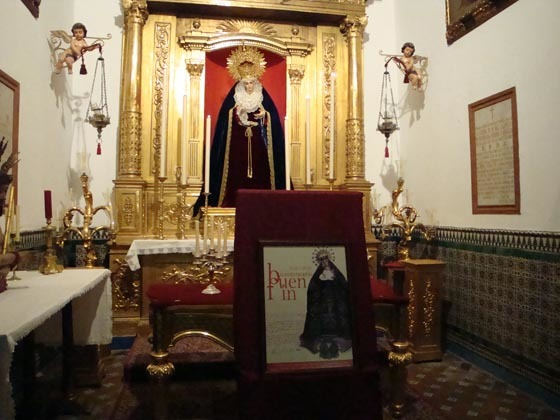 Presentación de los actos del bicentenario de la Virgen del Buen Fin de la Lanzada.  Foto: J.P.