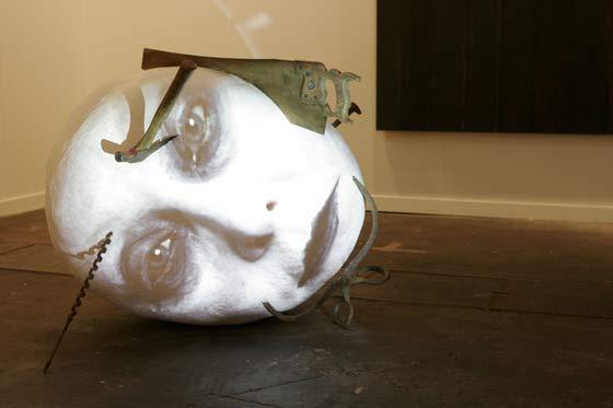 Algunas de las obras de ARCO no se entienden a simple vista.  Foto: Alberto Morales