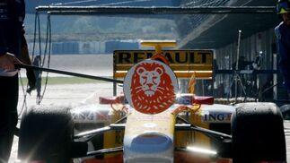 Alonso completó una jornada sin sufrir contratiempos mecánicos.  Foto: J. C. Toro