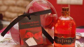 Chocolate y rosas y aceites aromáticos.  Foto: Victoria Hidalgo - Belén Vargas