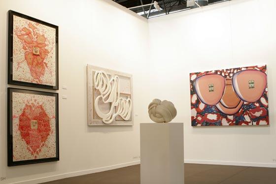 Diferentes estilos se mezcla en el gran mercado del arte.  Foto: Alberto Morales