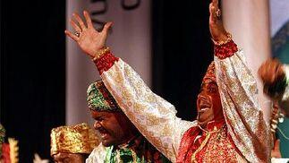 Músicas de la India y pasión gitana para La tribu del compás.  Foto: Jose Braza