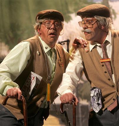Los viejecitos del Love y el Cabra llegaron en plena forma.  Foto: Jesus Marin