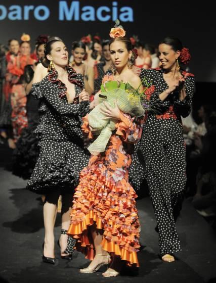 Almudena Pérez, la ganadora.  Foto: Manuel Aranda