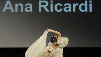 Ana Ricardi dotó a sus vestidos de unas líneas bellísimas  Foto: Manuel Aranda