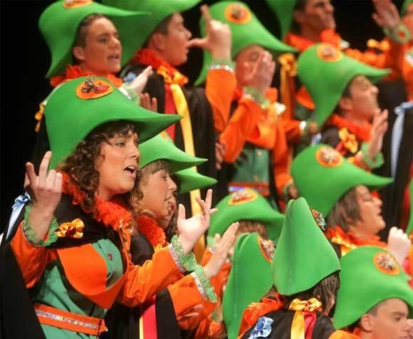 Coro 'La estudiantina' (Cádiz)  Foto: Jesús Marín