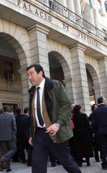 Federico Jiménez Ballester en un momento de la huelga.  Foto: Juarn Carlos Muñoz
