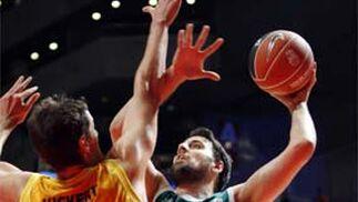 El Unicaja vence al Kalise Gran Canaria por 79 - 69.  Foto: EFE / Agencias