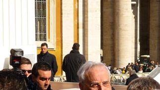 El Papa junto al cardenal Amigo.  Foto: D.S.