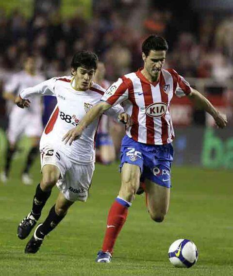 Fazio hizo una gran labor defensiva ante los atléticos.  Foto: Antonio Pizarro