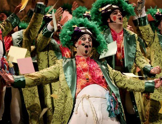 Los Cañamaque (coro). 2º Premio. Foto: José Braza, Jesús Miró y Lourdes Vicente