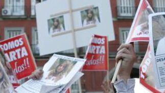 Cientos de personas pidieron justicia por Marta.  Foto: Juan Carlos Vázquez / Alberto Morales