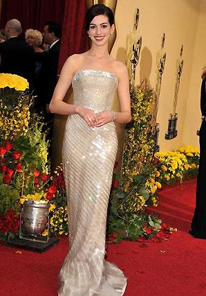 Anne Hathaway, nominada por 'La boda de Rachel'.  Foto: AFP Photo / EFE / Reuters
