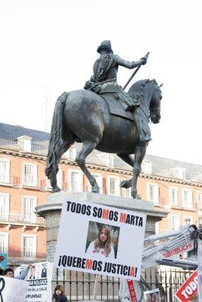 Los manifestantes pidieron justicia.  Foto: Juan Carlos Vázquez / Alberto Morales
