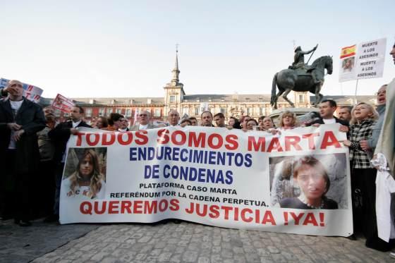 Miles de personas se dieron cita en la Plaza Mayor de Madrid.  Foto: Juan Carlos Vázquez / Alberto Morales