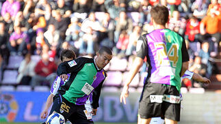 El Málaga continua su buena racha con victoria a domicilio en Valladolid (1-3)  Foto: Nacho Gallego / Efe - La Otra Foto
