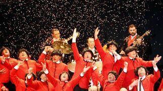 Cuando yo me pele (coro). 1º Premio. Foto: José Braza, Jesús Miró y Lourdes Vicente