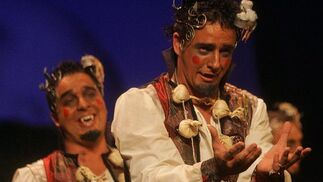Los trasnochadres (comparsa). 3º Premio. Foto: José Braza, Jesús Miró y Lourdes Vicente